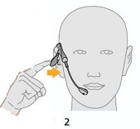 Tristar How to adjust your earpiece image 2