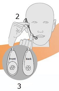 Tristar How to adjust the mouthpiece for H81N noise canceling model image