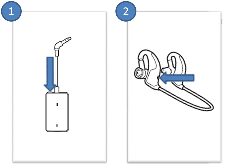 Backbeat 906 Pairing to Adapter Process