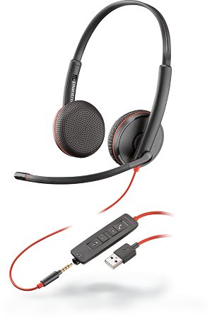 Image of the Blackwire 3225 USB-A