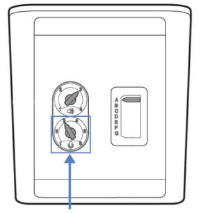 Image of the CS540 speaking volume dial