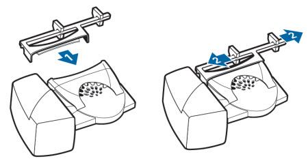 Image of the HL10 extender arm setup