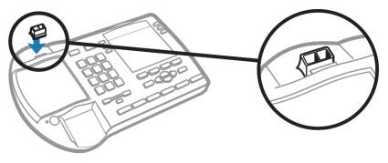 Image of the HL10 Nortel accessory setup