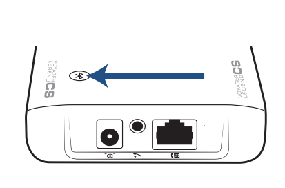 Diagram of the pairing process of the Voyager Legend CS.