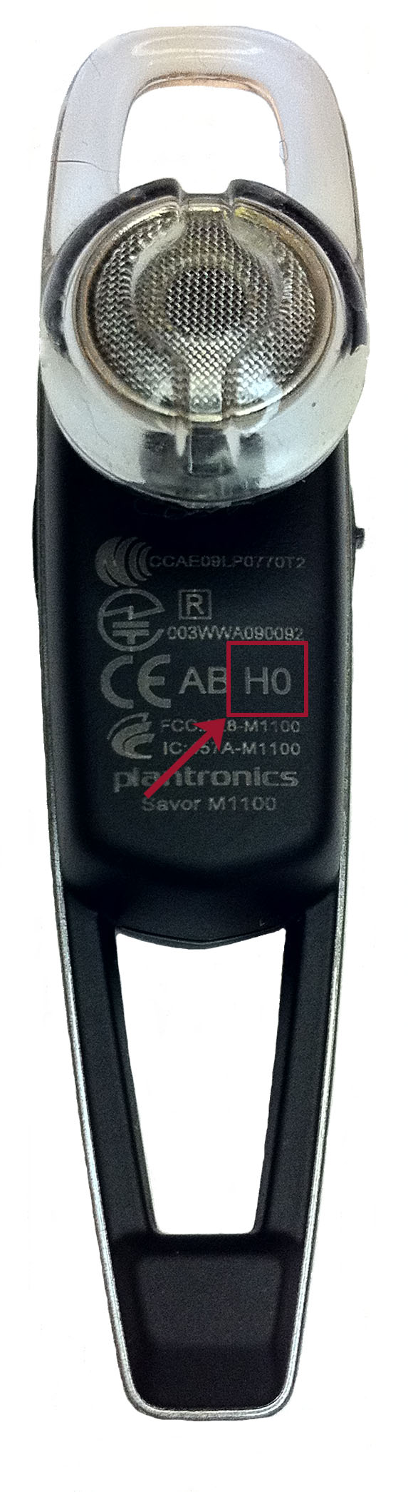 Date Code location for the M1100