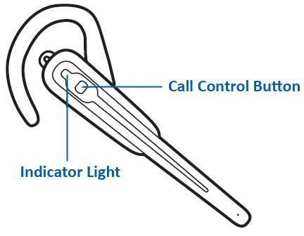 The Savi Go Call Control Button