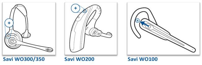 Savi Office Volume Controls